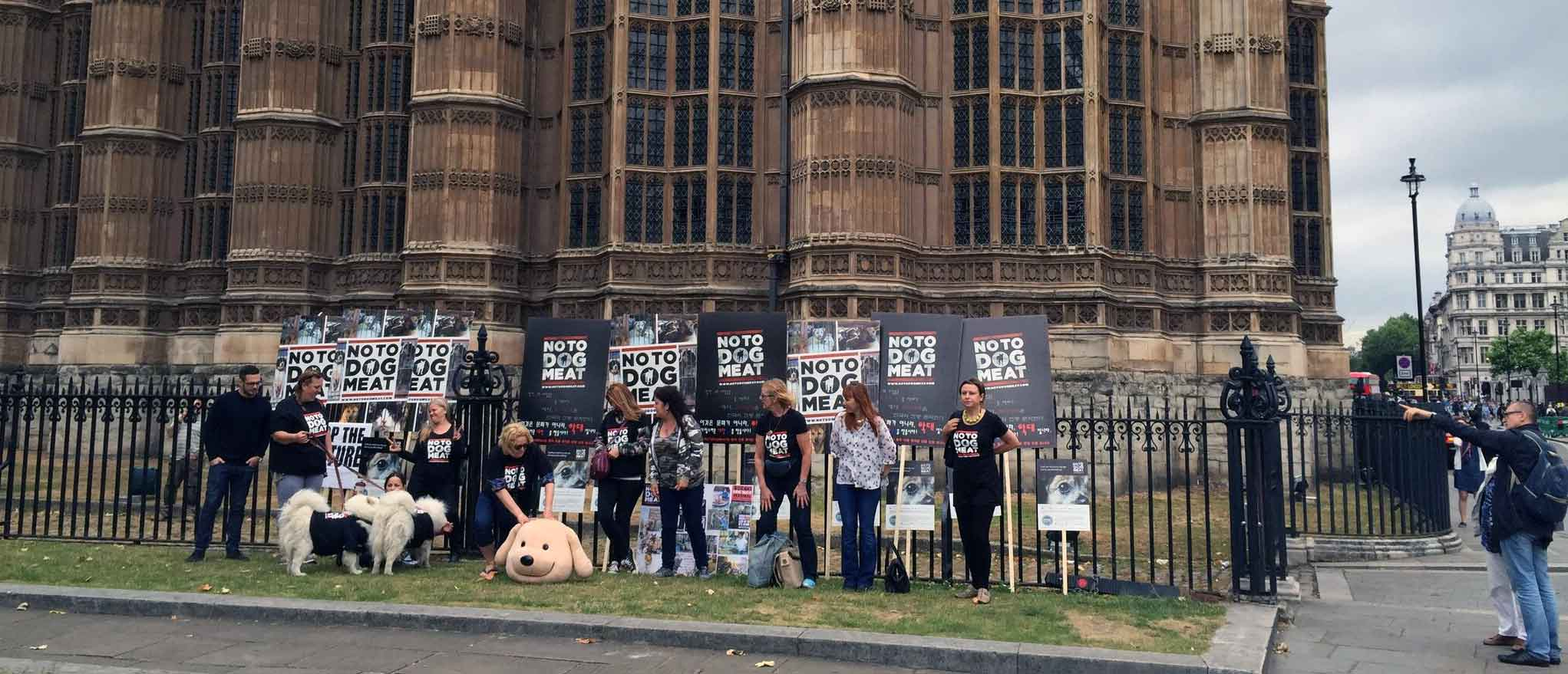 notodogmeat at the house of parliament
